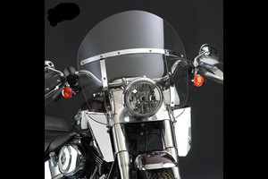 National Cycle SwitchBlade Windshield for M50 Boulevard '05-Up - Chopped Tinted