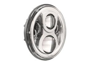J.W. Speakers 7-inch Evolution 2 LED Headlight -Chrome