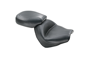 Mustang  Two-Piece Wide Touring Seat   for VTX1300C '04-Up -Vintage