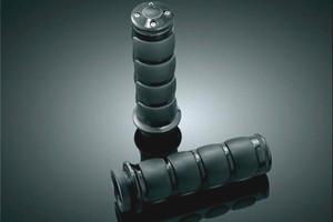 Kuryakyn  Black  ISO Grips -For Certain Kawasaki & Yamaha Models &  Victory & Suzuki Models