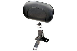 Mustang Seats Ultra Driver Backrest Kit for Harley Davidson Touring Models 2009-Up -Smooth, No Studs