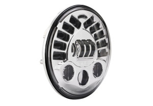 J.W. Speakers 7-inch LED Adaptive Headlight -Chrome