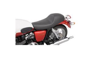 Saddlemen Americano Cafe Seats for '01-13 Triumph Bonneville SE, T100, Thruxton  - Smooth
