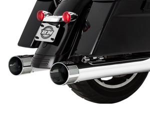 Paul Yaffe's Bagger Nation Cult 45 Slip On Mufflers for Harley Davidson Touring Models 2017-Up -Chrome Speed Freak