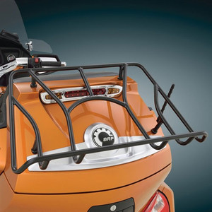 Show Chrome Tour Trunk Rack for Can Am Spyder RT - Black