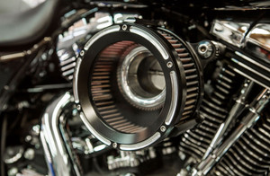 Trask Assault Charge High Flow Air Cleaner Kit for Harley Davidson Touring Models '17-Up - Reverse Cut