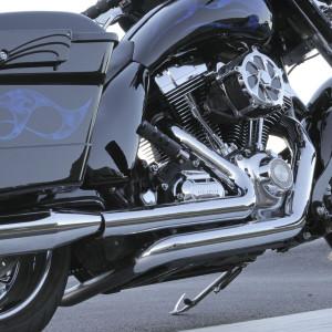 RCX Tru Dual Headers for Harley Davidson Touring Models '10-16 - Chrome