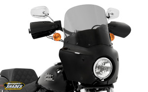 Memphis Shades Complete Road Warrior Fairing Package for Harley Davidson Dyna Models '06-17