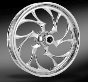 RC Components Shifter Chrome Wheel for Harley Davidson Touring Models (Choose Options)