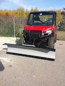 Snow Plow Packages for Polaris UTV Models (Select Plow Blade, Plow Mount, & Winch Options)