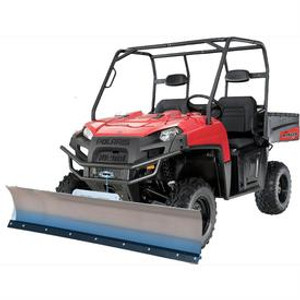 Snow Plow Packages for Kawasaki UTV Models (Select Plow Blade, Plow Mount, & Winch Options)