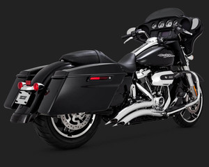 Vance & Hines Big Radius Exhaust System for Harley Davidson Touring Models '17-Up - Chrome