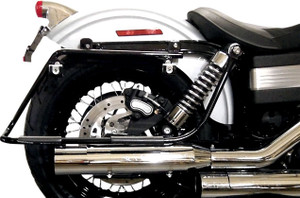 Cycle Visions FL Saddlebag Mounting Brackets for Harley Davidson Dyna Models '91-05