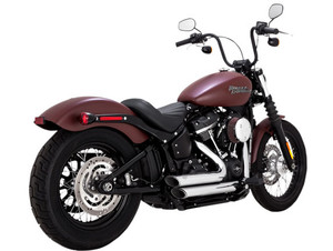 Vance & Hines Shortshots Staggered for '18-Up Softail Models (Except 2018 Softail Fat Boy or Breakout) - Chrome