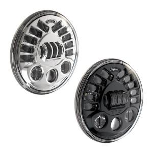J.W. Speaker 7 inch LED Headlight for Harley Davidson Models