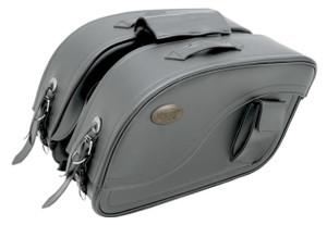 All American Rider F2000 Contemporary Futura Style Detachable Slant Saddlebags