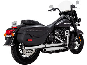 Vance & Hines Eliminator 300 Slip-ons for '18-Up Harley-Davidson Heritage & Deluxe models - Chrome
