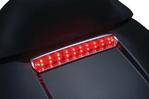 Kuryakyn LED Tour Pack Lid Light for '14-Up Harley Davidson Models with Tour Pack (Choose Chrome or Satin Black)