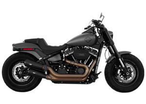 Magnaflow Gunslinger Slip On Mufflers for 2018-Up Harley Davidson Softail Fatbob - Black