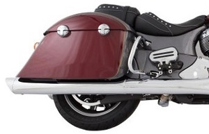 TAB Performance B.A.M. Sticks Slip On Mufflers for '14-Up Indian Chieftain, Roadmaster & Springfield - Chrome or Black