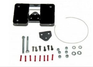 Easy Brackets Turn Signal and License Plate Relocation Kit  for '18-Up Harley Davidson Softail Low Rider Models (Select Chrome or Black)