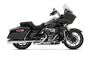 MagnaFlow 4.5 inch Impact Slip On Mufflers for '17-Up Harley Davidson Touring Models (Select Finish and End Caps)
