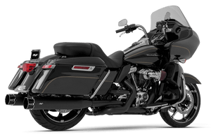 MagnaFlow 4 inch Sniper Slip On Mufflers for '17-Up Harley Davidson Touring Models (Select Finish and End Caps)