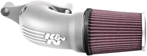 K&N High Flow Aircharger Intake System for 17-Up Harley Davidson Touring & Trike Models and '18-Up Softail Models