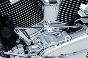 Kuryakyn Precision Cylinder Base Cover for '18-Up Harley Davidson Milwaukee-Eight Softail Models (Choose Chrome or Black)
