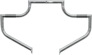 Lindby Linbar Engine Guard for '86-11 Harley Davidson Softail Models - Chrome (Click for fitment)