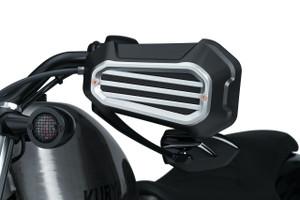 Kuryakyn Dillinger Handguards for '04-Up Harley-Davidson Sportster Models (Select Finish)