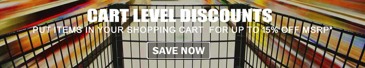Cart Level Discounts