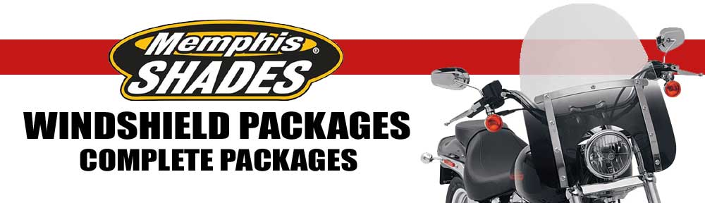 Memphis Shades Fats Windshield Packages