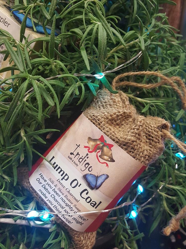 Silk & Shea - Lump of Coal (Detox Charcoal) Gift Set
