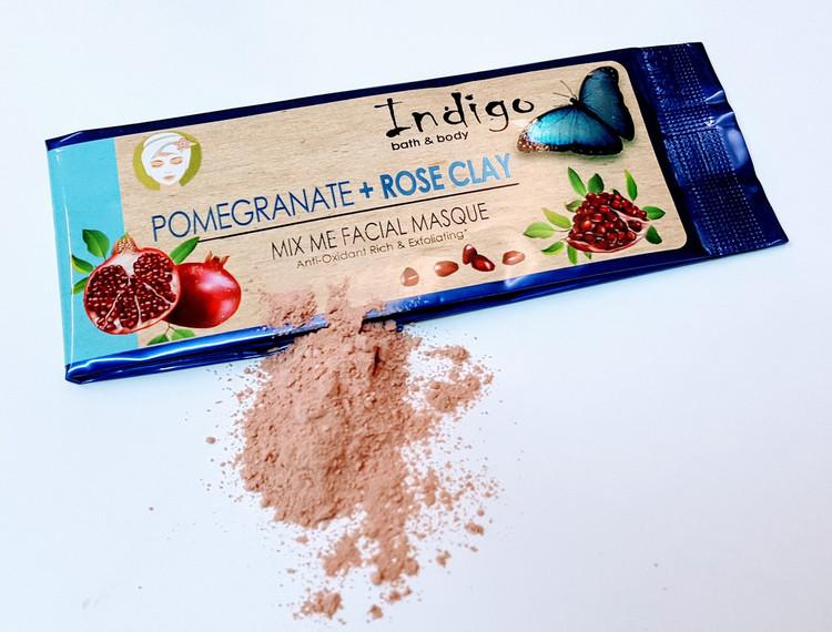Mix Me Masque - Single - Pomegranate & Rose Clay