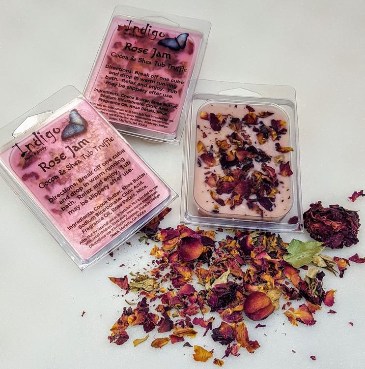 Cocoa & Shea Tub Truffles - Rose Jam (Valentine) - Limited Edition