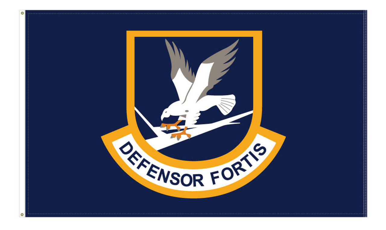 Security Forces Defensor Fortis Flags