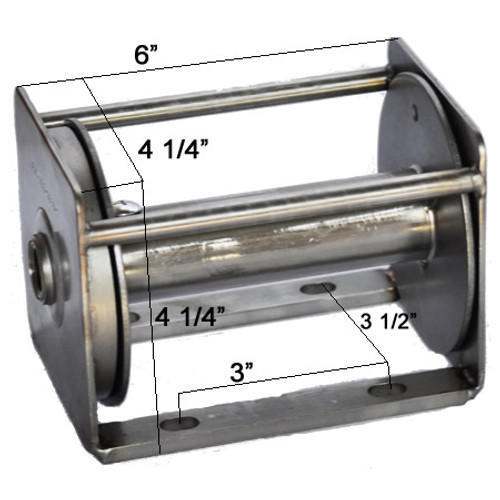 Xl Stainless Steel Flagpole Winch Ameritexflags Com