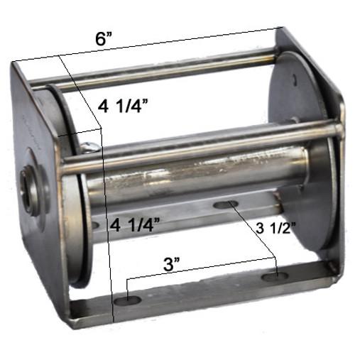 XL Stainless Steel Winch