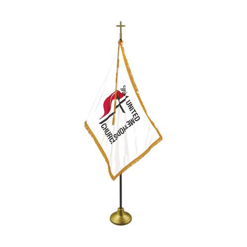 Indoor United Methodist UMC Flag Sets