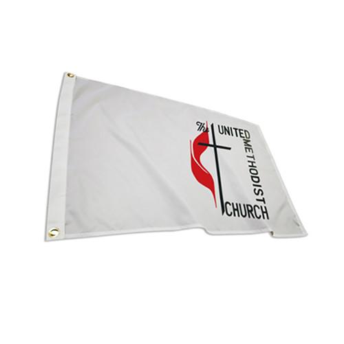 Nylon United Methodist Flags
