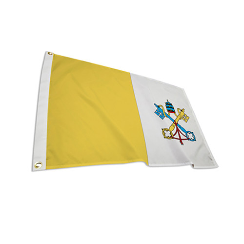 Papal Vatican City Outdoor and Indoor Nylon Flags