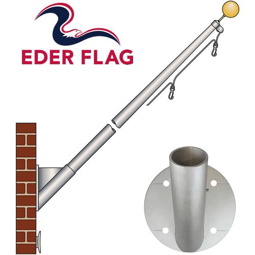 Eder Flag ECOS Aluminum Outrigger Flagpoles