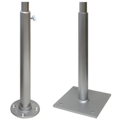 Deck Mount Flagpole Holders