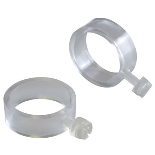 Clear Plastic EZ-Mount Flag Rings