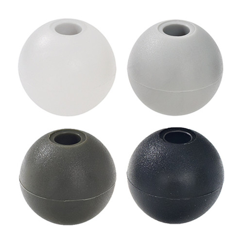 "1"" Nylon Beaded Retainer Ring Balls"