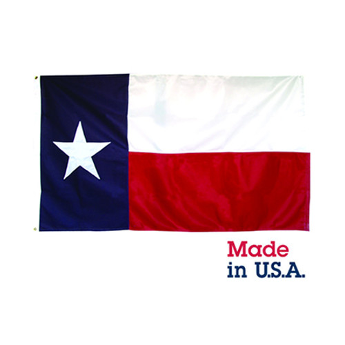 2' x 3' Nylon Texas Flag