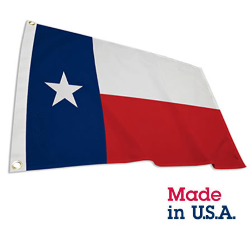 4' x 6' Polyester Texas Flag