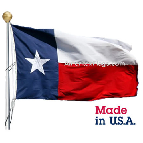 10' x 19' Polyester Texas Flag