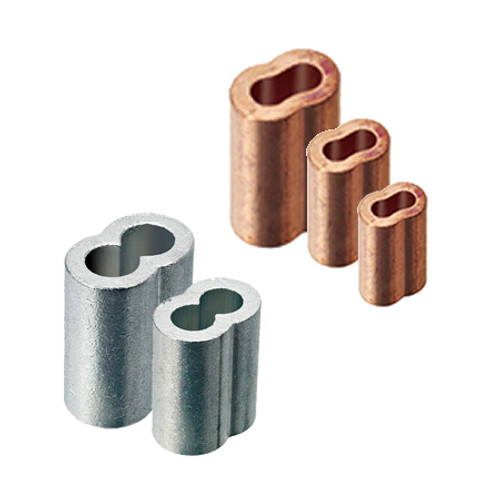 Oval Swage Sleeves - Cable Crimps